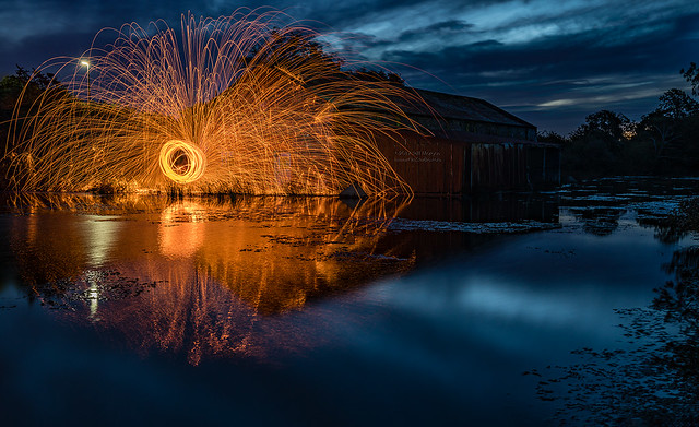 Wirewool spin