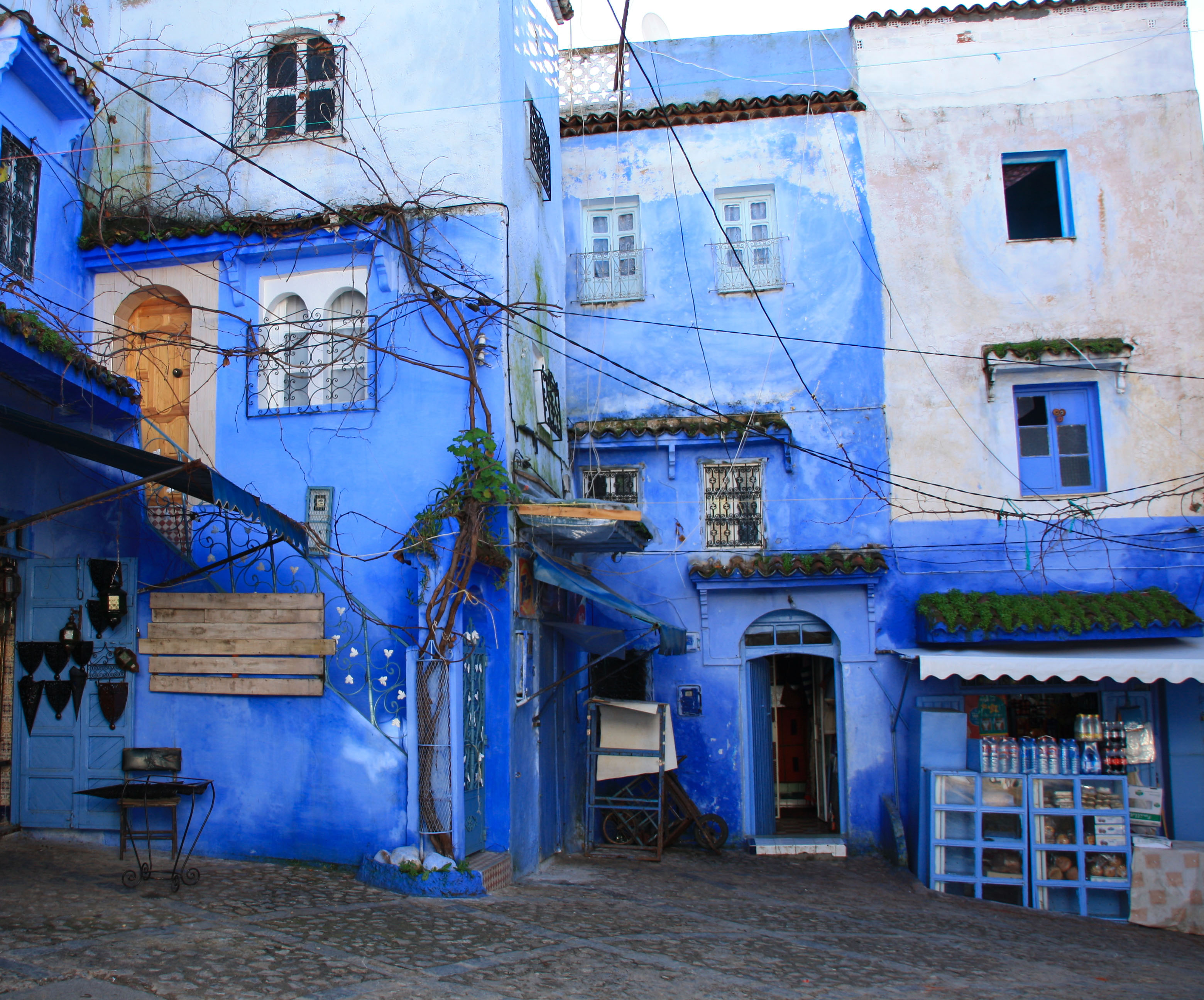 Chefchaouen, Morocco. Photo taken January 1, 2000.