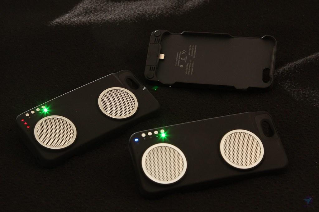 iPhone手機殼推薦喇叭手機殼評價 PERI 音響殼 結合喇叭與行動電源的多功能手機殼(PERI Duo 音響殼 iphone音響手機殼)Amazon 5星評價 Wi-Fi喇叭 藍芽喇叭[真.開箱]