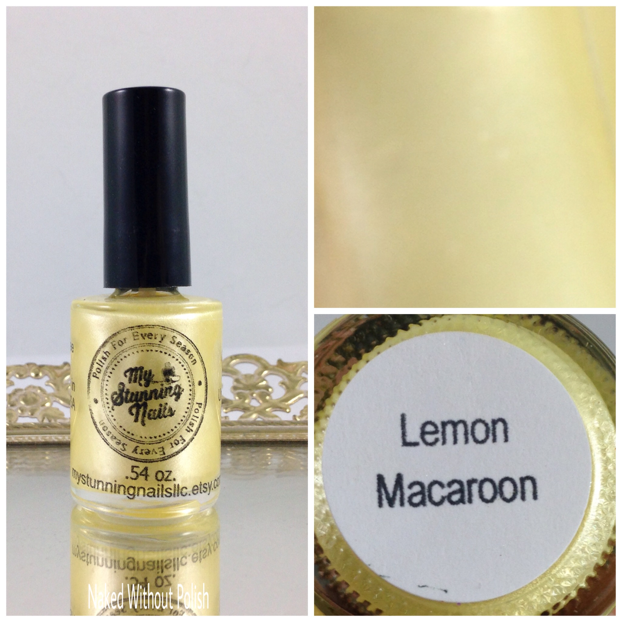 My-Stunning-Nails-Lemon-Macaroon-1