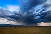 Thunderstorm and Hay, Macdoel, CA by 4 Corners Photo