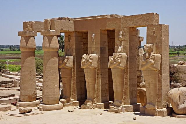 Luxor, Egypt - Ramesseum - Temple of Ramses II