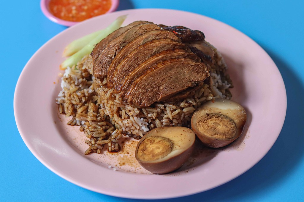 Braised Duck Rice: Ah Xiao Teochew Braised Duck