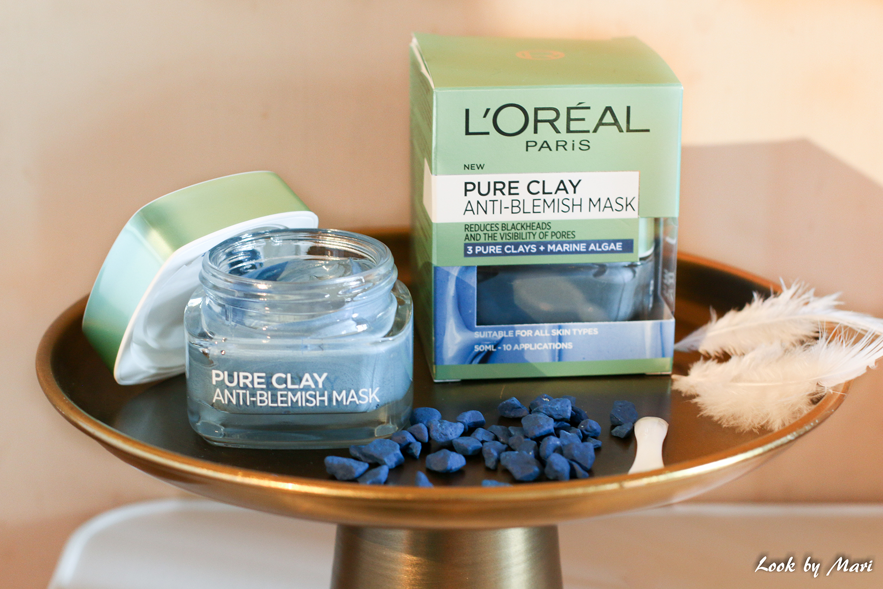 12 loreal pure clay anti-blemish mask review