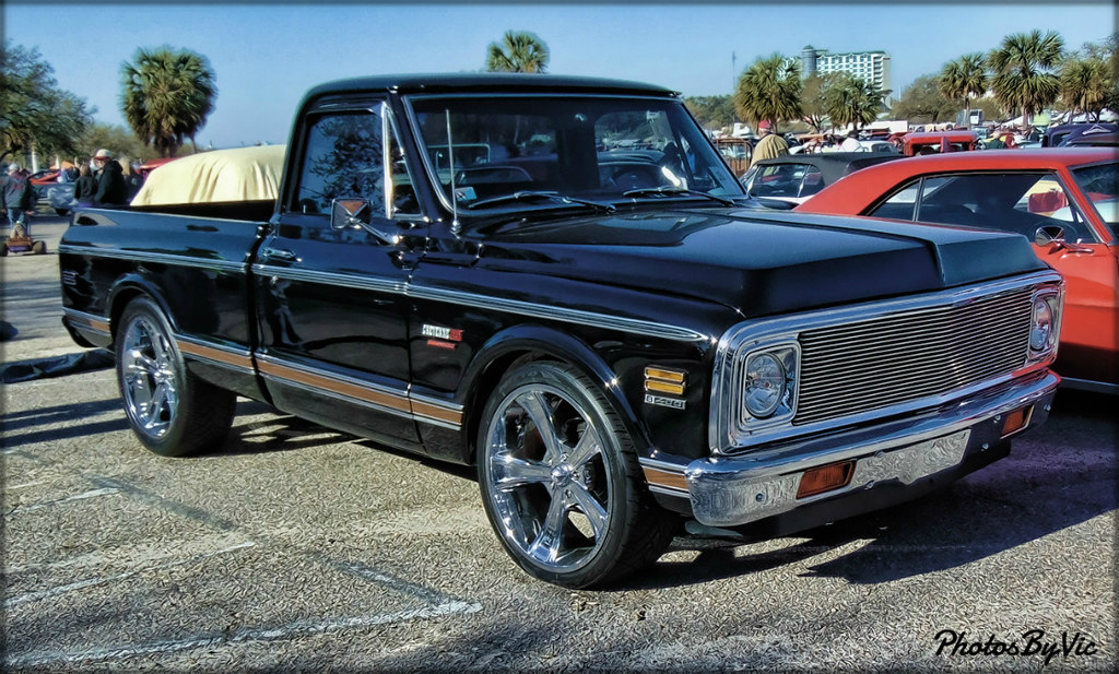 New Chevy Truck >> '72 Chevy Truck   Run to the Sun Car Show Myrtle Beach, SC   Vic Montgomery   Flickr