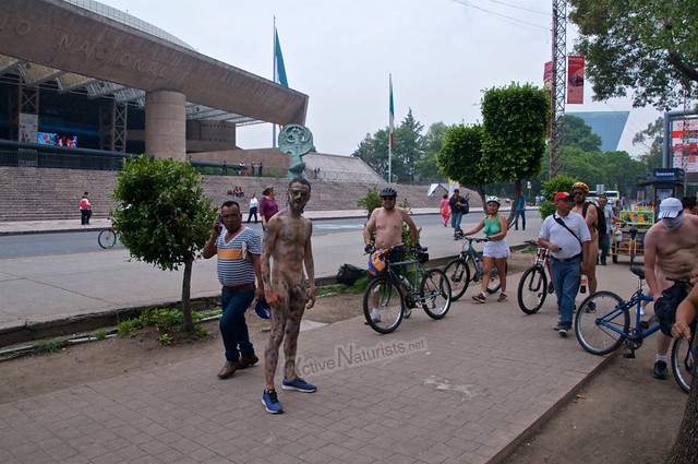 naturist 0036 WNBR World Naked Bike Ride, Mexico