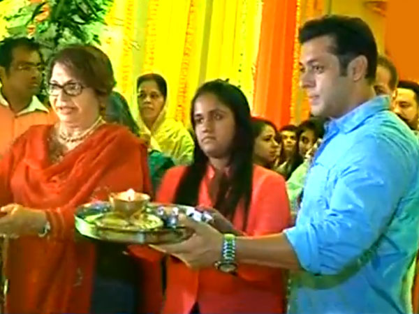 salman khan with sister arpita on ganesh utsav.jpg