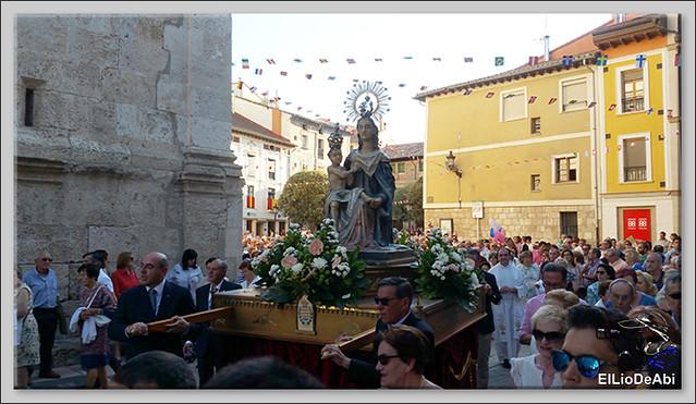 #BriviescaFiestas17 Procesión del Rosario  y Canto de la Salve (3)