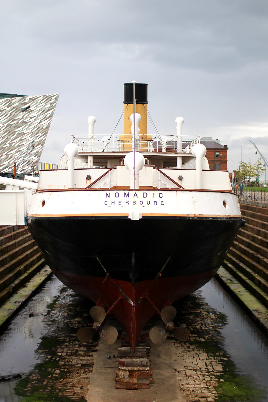 SS Nomadic Titanic Museum Belfast 48 hour guide travel blogger UK Northern Ireland