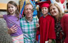 Elliot's pre-school graduation