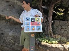 Matterhorn control panel 2, California Adventure, Disneyland, Anaheim, California, USA