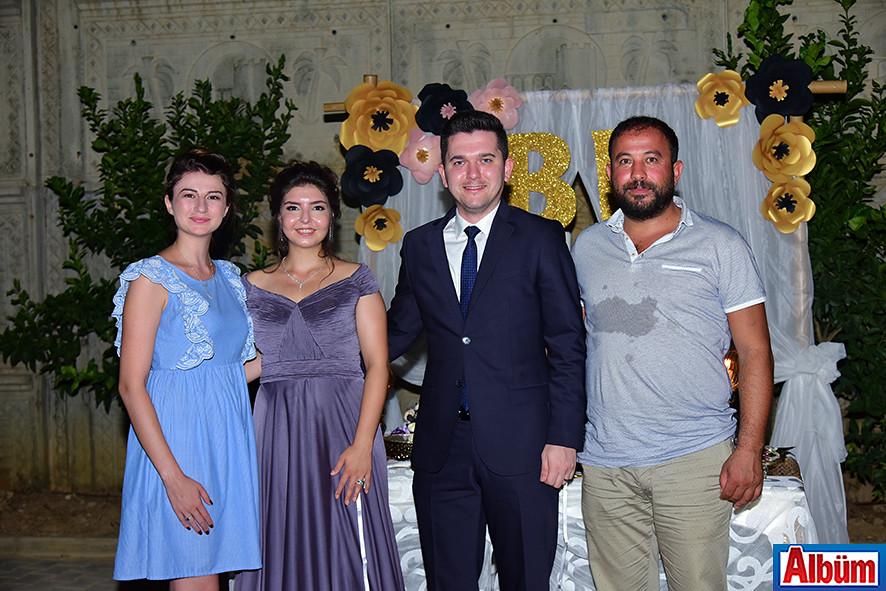 Büşra Aydoğan, Berna Er, Ejder Soğancı, Suat Aydoğan