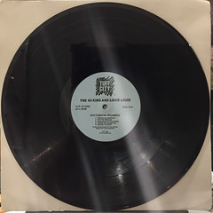 THE 45 KING & LOUIE LOUIE:RYHTHMICAL MADNESS(RECORD SIDE-A)