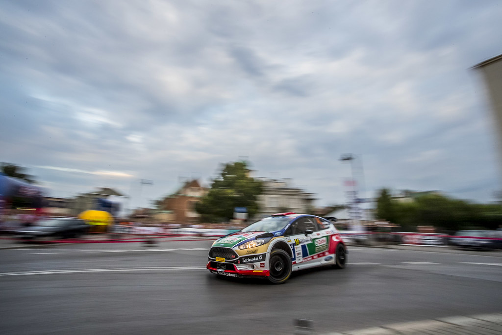 14 BOSTANCI Murat (TUR) VATANSEVER Onur (TUR) Ford Fiesta R5 action during the 2017 European Rally Championship Rally Rzeszow in Poland from August 3 to 5 - Photo Gregory Lenormand / DPPI