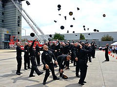 LAFD Welcomes Recruit Training Academy Class 2016-3