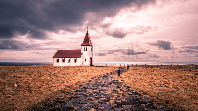 Hellnar church - Iceland - Travel photography
