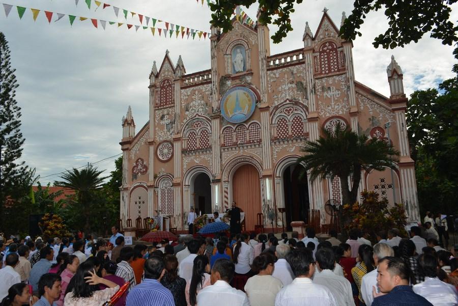 Thánh lễ trạm, ngày cử hành năm thánh tại giáo hạt Kim Châu