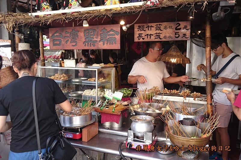 台南孔廟與附近美食18孔廟商圈