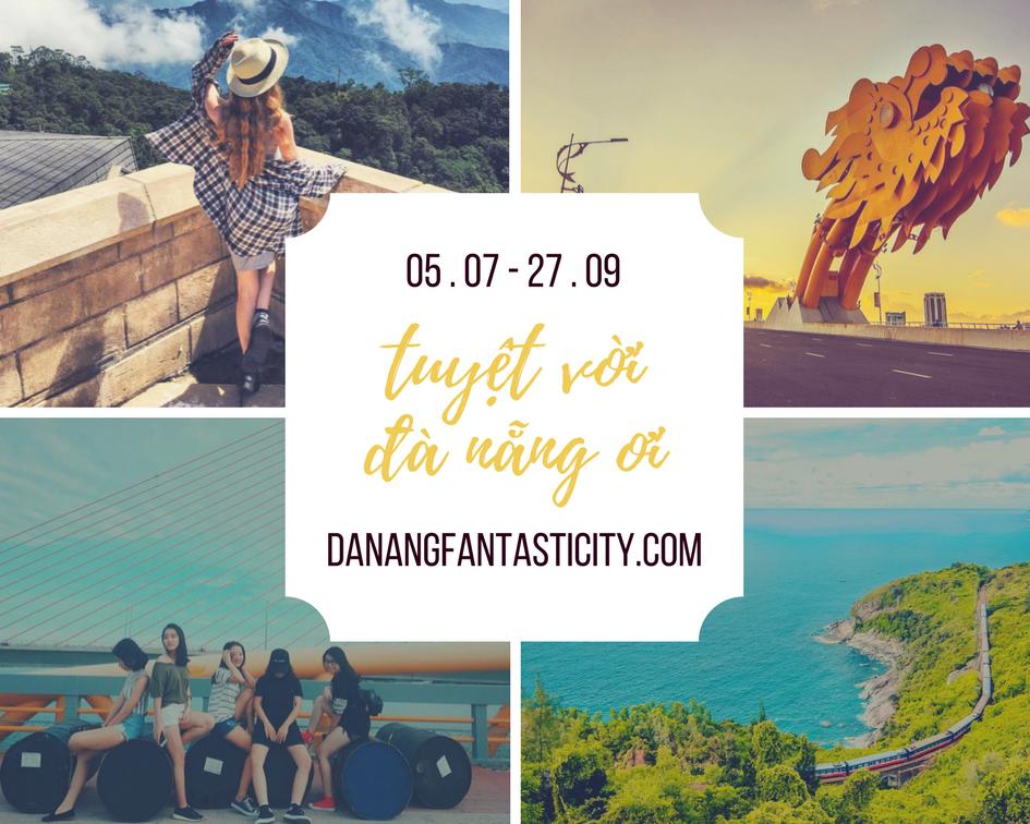 Cuộc thi trải nghiệm du lịch Đà Nẵng - Tuyệt vời Đà Nẵng Ơi!