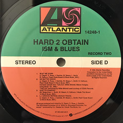 HARD 2 OBTAIN:ISM & BLUES(LABEL SIDE-D)
