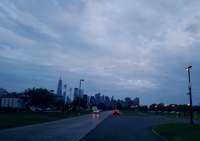 Manhattan from Liberty State Park Sept 2017