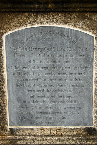 A story told on stone in the Glasnevin Cemetery in Dublin, Ireland