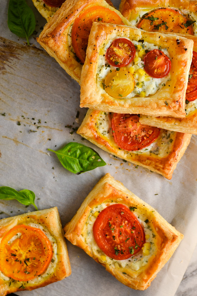 Tomato and Corn Tarts | Things I Made Today