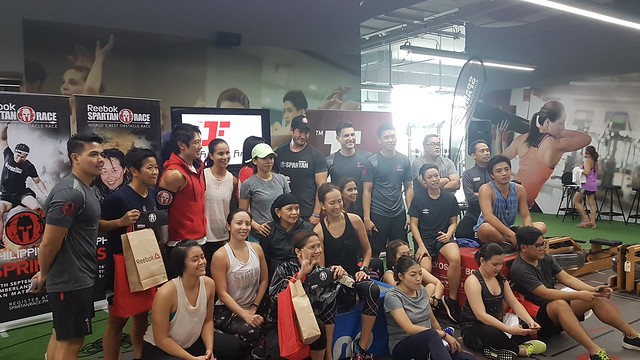 Fitness First Spartan SGX Launch