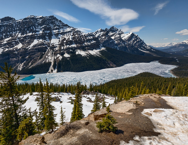 Peyto Lake, Canon EOS 5D MARK IV, Canon EF 16-35mm f/4L IS USM