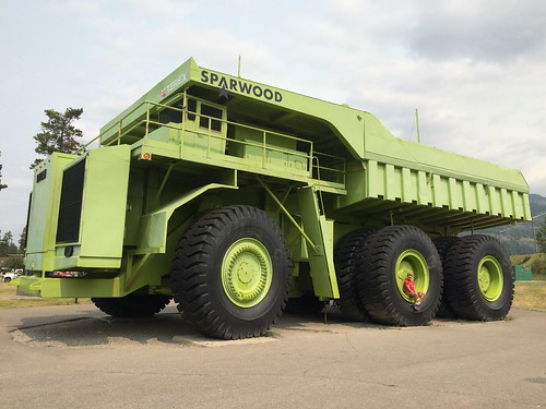 Sparwood Largest Truck