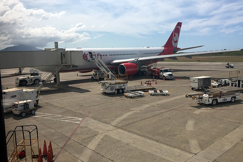 33 - Air Berlin - Airbus A330 - Airport Puerto Plata