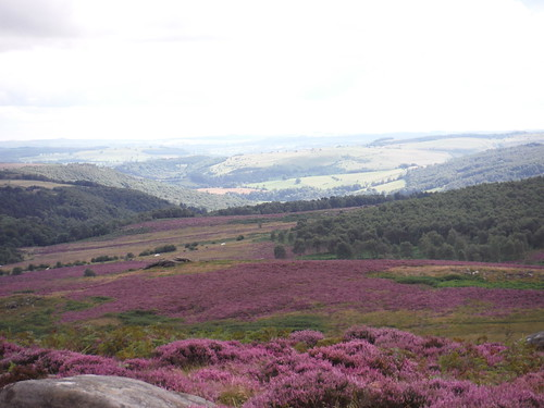 View into Hope Valley from Carl Wark