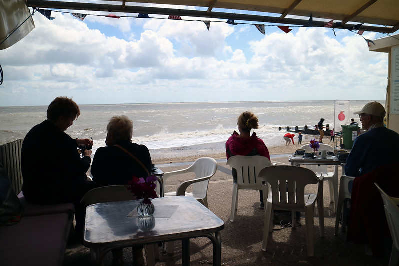View from Suzie's Cafe Southwold
