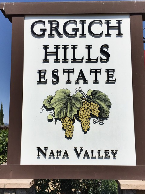 Grgich Hills sign