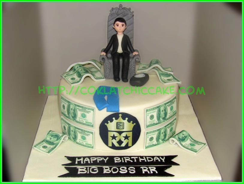 Cake uang big boss RR