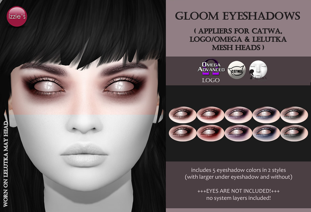 Gloom Eyeshadows Gift - TeleportHub.com Live!