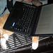 20170428 - Oranjello under Carolyn's laptop - 201704281404-12