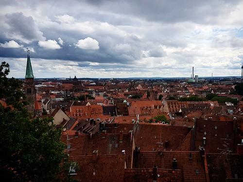 Norimberga vista dal castello