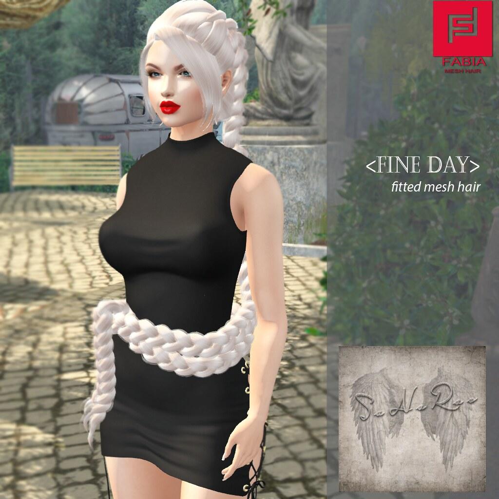 -FABIA- Mesh Hair   <Fine Day>