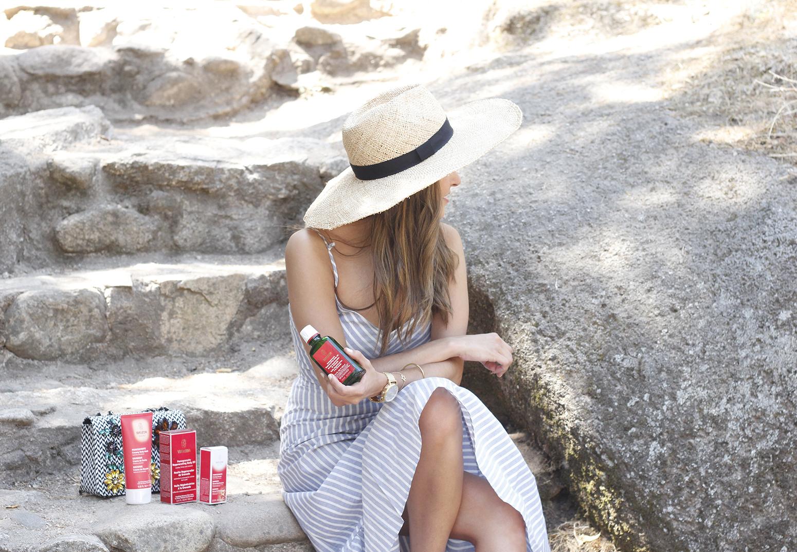 Weleda Granada belleza hidratante corporal cuidados verano beauty skin8