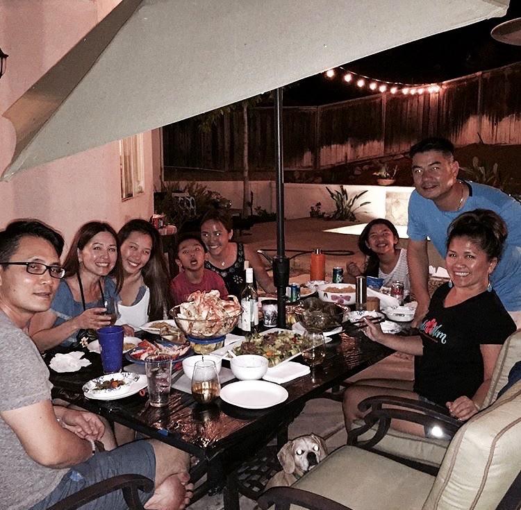 July 2017 Family Dinner