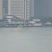 "Hydrofoil ""Seven Islands"" Niji Arriving at Takeshiba-sanbashi"
