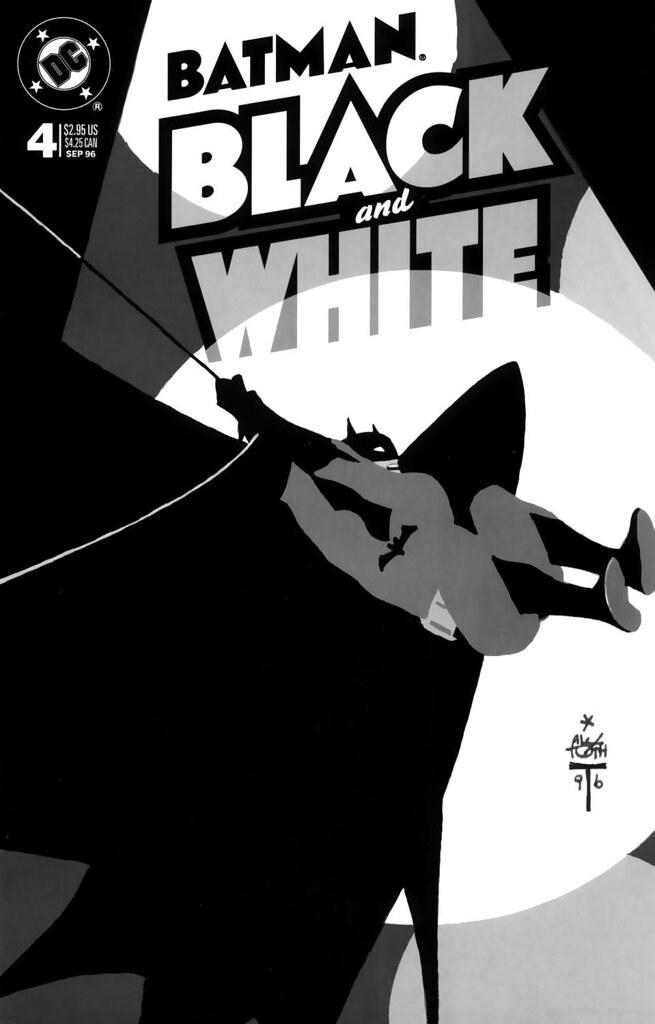 Batman - Black & White 4 alex toth cover