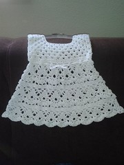 😉😍😘 More than simple work and at the same time delicate, I loved that crochet dress