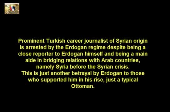 Prominent Turkish Journalist Husni Mahalli Arrested by Erdogan