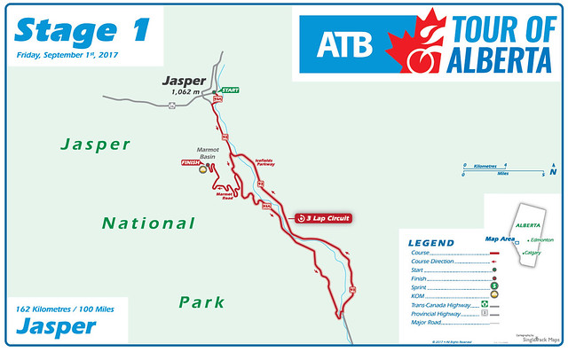 Tour of Alberta - Stage 1