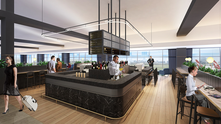 Melbourne Airport revamped Qantas domestic lounges