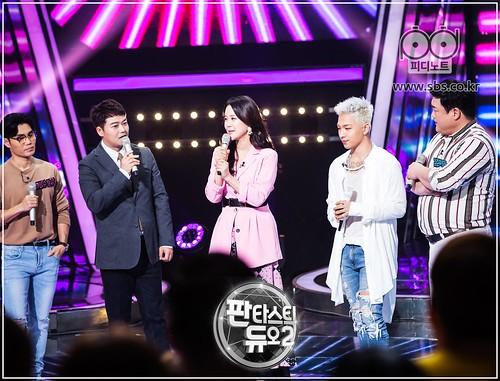 Taeyang Fantastic Duo 2 SBS August 2017 (4)