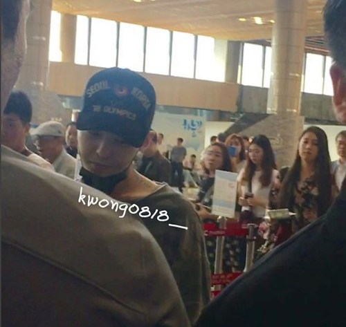 G-Dragon Departure Seoul to Osaka (12)