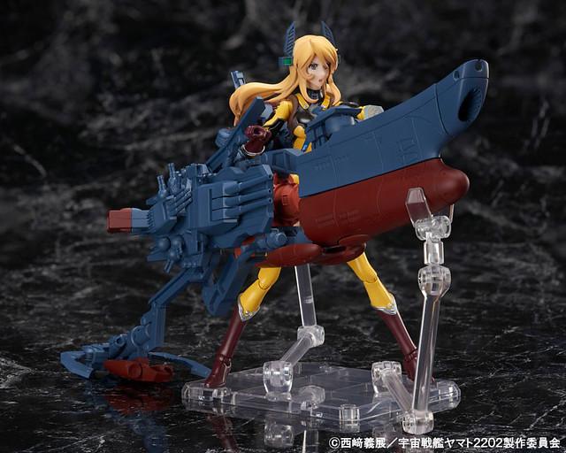 夢幻造型徹底實現!AGP 《宇宙戰艦大和號 2202 愛的戰士們》 大和裝甲x森雪(ヤマトアーマー×森雪)